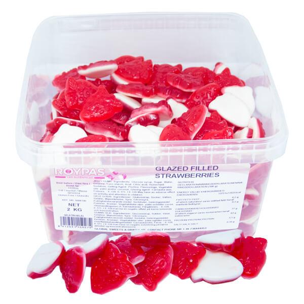 Filled Strawberries (Halal/kocher)
