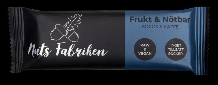 Frukt & Nötbar Kokos & Kaffe
