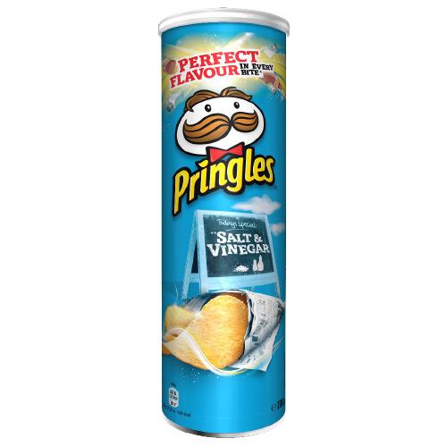 Pringles Salt & Vinäger 200g