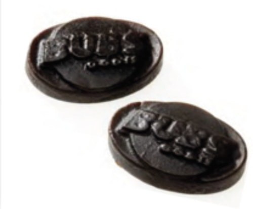 Bubs Sötlakrits (Vegan)