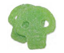 Sur Grön Döskalle (Vegan)
