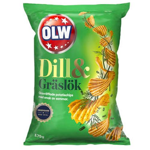 OLW Dill & Gräslök 175g