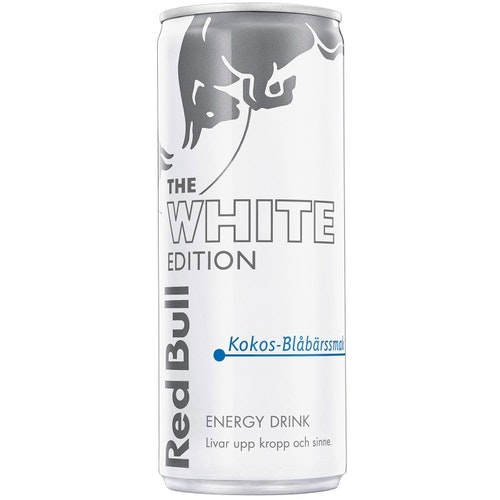 Redbull White Edition 25cl