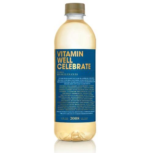 Vitamin Well Celebrate 50cl