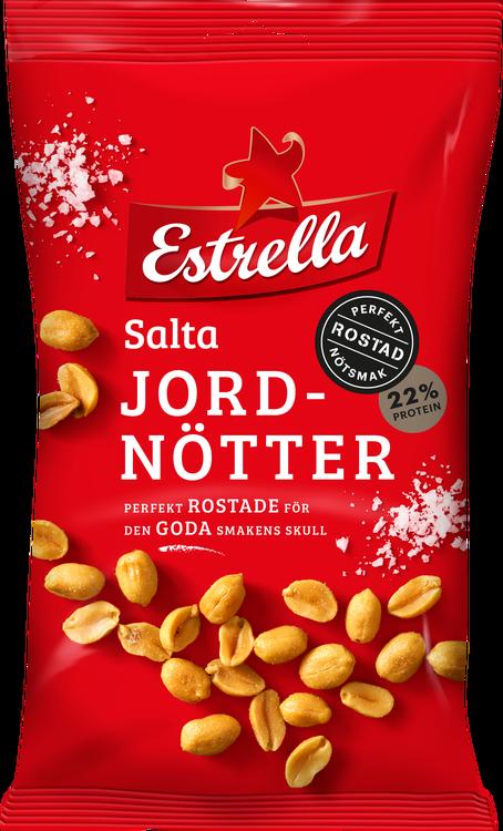 Estrella Salta Jordnötter 160g