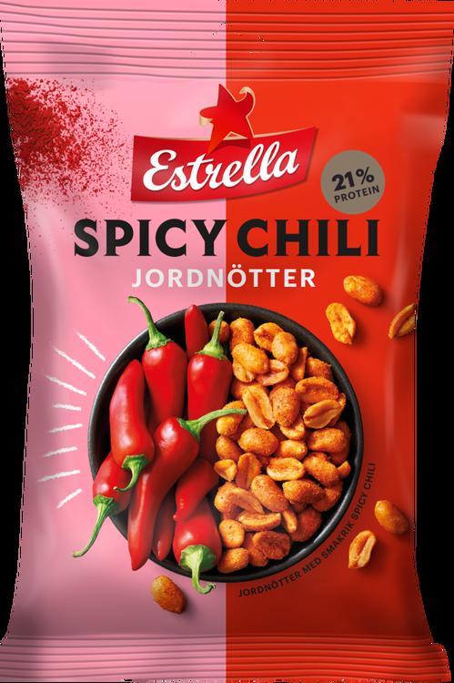 Estrella Spicy Chilli Jordnötter 180g