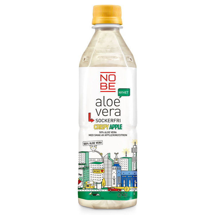 Kopia Aloe Vera Crispy Apple Sockerfri 50cl