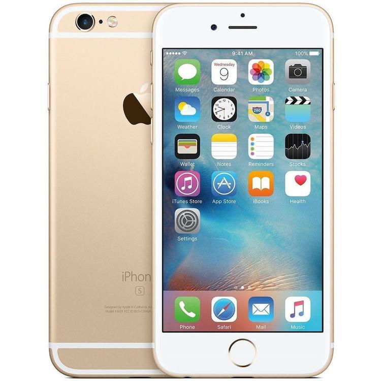 iPhone 6S 16GB Guld - BEG - GOTT SKICK - OLÅST