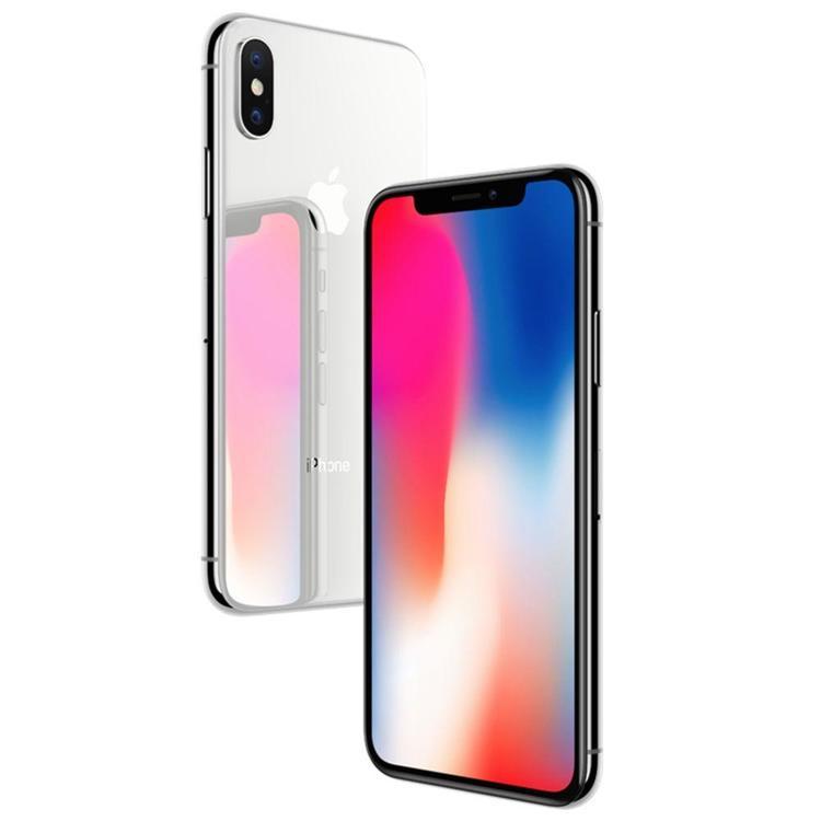 iPhone X 64GB Silver - BEG - GOTT SKICK - OLÅST