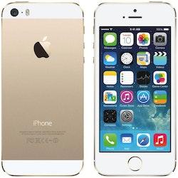 iPhone 5S 32GB Guld - BEG - GOTT SKICK - OLÅST