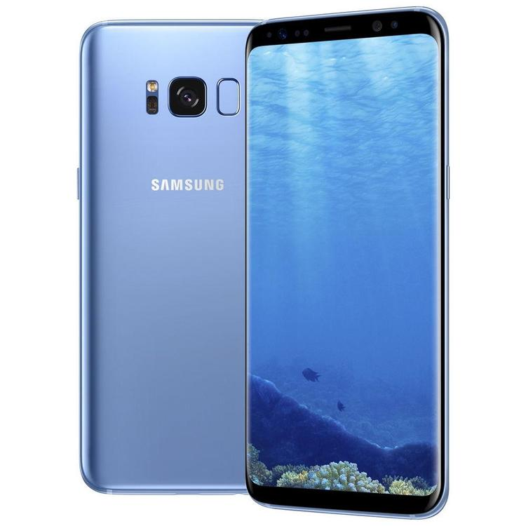 Samsung Galaxy S8 64GB Blå - BEG - GOTT SKICK - OLÅST