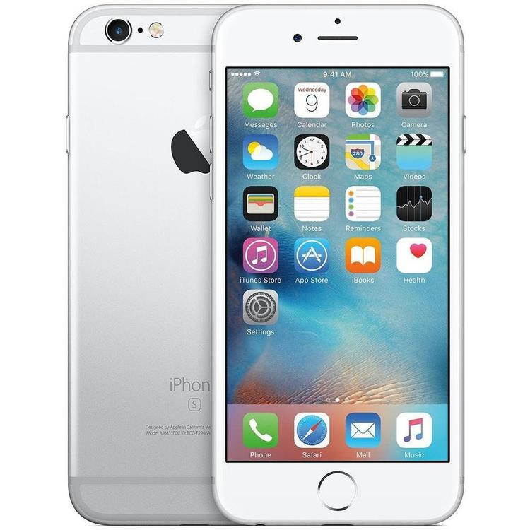 iPhone 6S 16GB Silver - BEG - GOTT SKICK - OLÅST