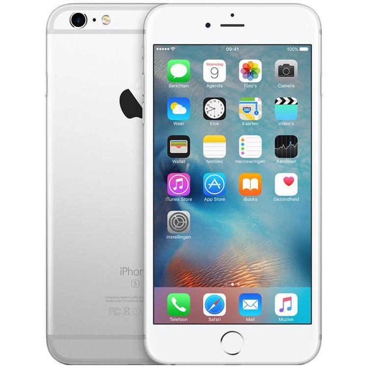 iPhone 6S Plus 16GB Silver - BEG - ANVÄNT SKICK - OLÅST