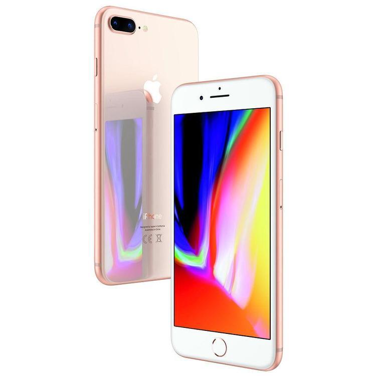 iPhone 8 Plus 64GB Guld - BEG - GOTT SKICK - OLÅST