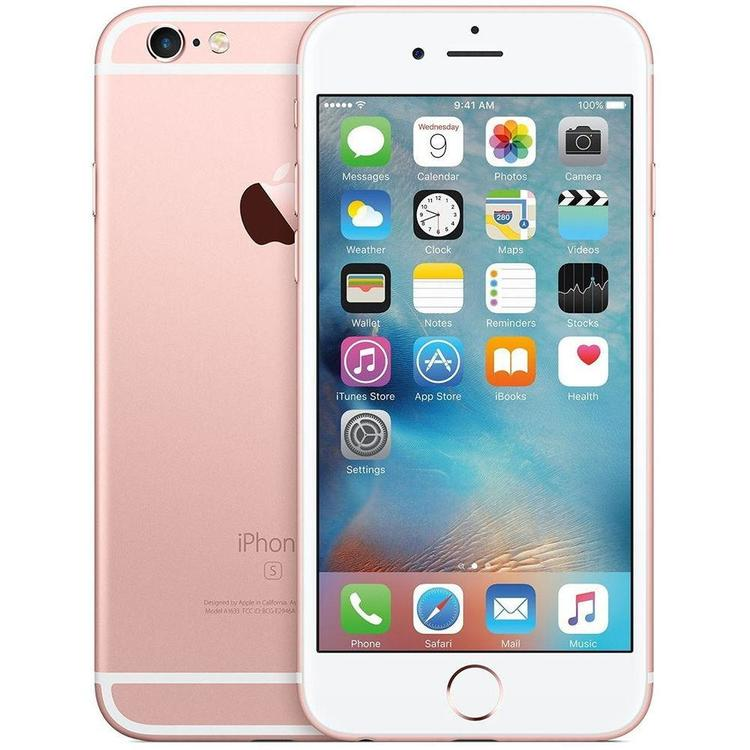 iPhone 6S 64GB Rosa Guld - BEG - GOTT SKICK - OLÅST