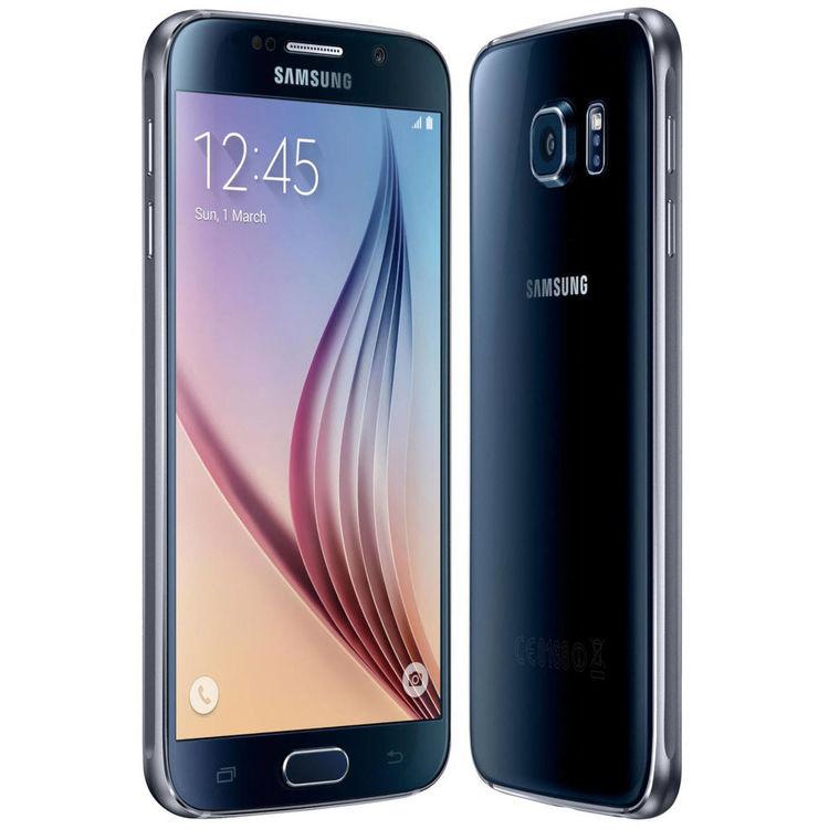 Samsung Galaxy S6 32GB Svart - BEG - GOTT SKICK - OLÅST