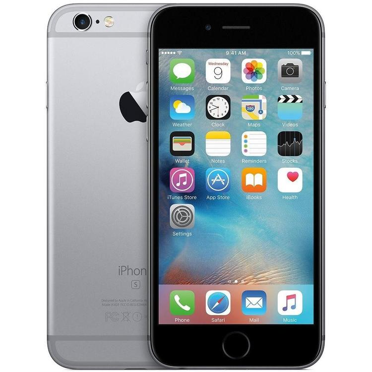iPhone 6S 128GB Space Gray - BEG - GOTT SKICK - OLÅST