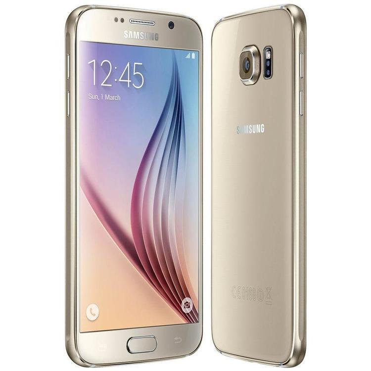 Samsung Galaxy S6 32GB Guld - BEG - GOTT SKICK - OLÅST
