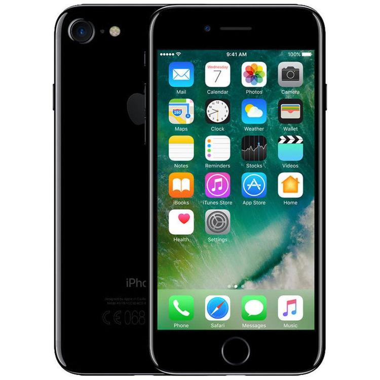 iPhone 7 128GB Jet Black - BEG - GOTT SKICK - OLÅST