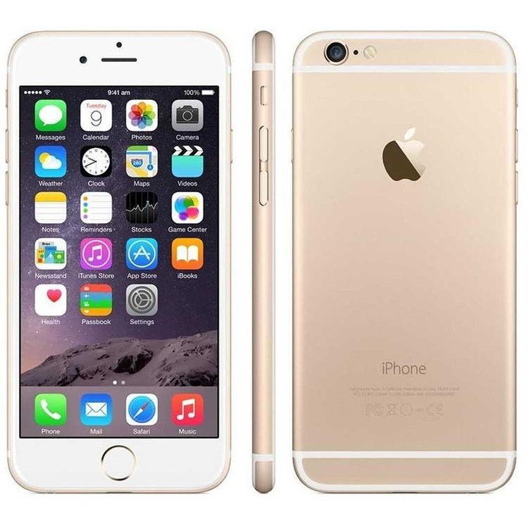iPhone 6 64GB Guld - BEG - GOTT SKICK - OLÅST