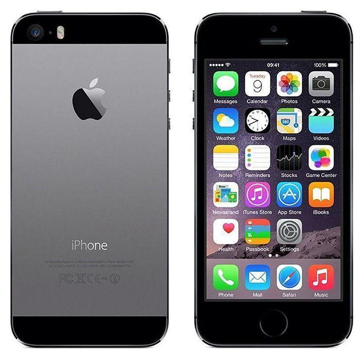 iPhone 5S 16GB Space Gray - BEG - GOTT SKICK - OLÅST
