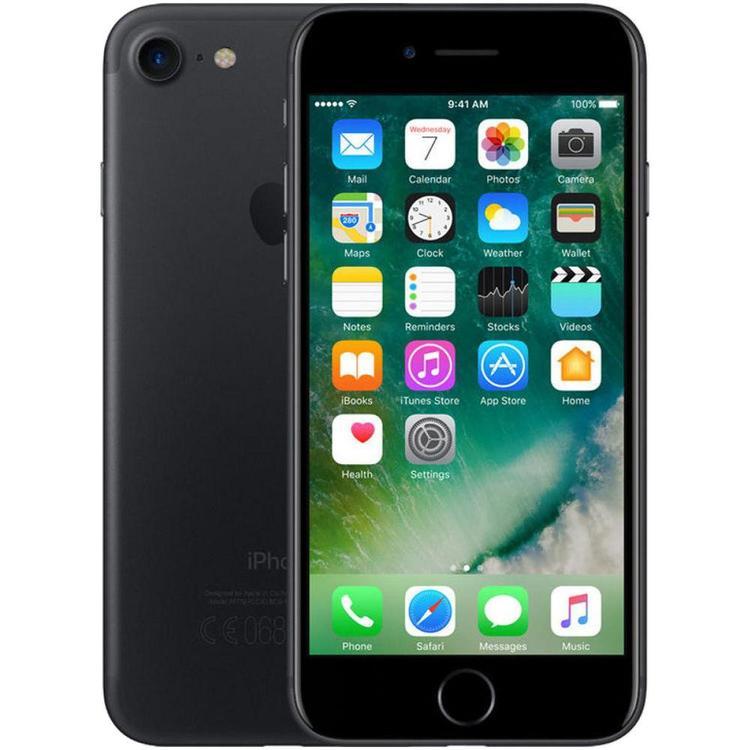 iPhone 7 128GB Matt Svart - BEG - GOTT SKICK - OLÅST