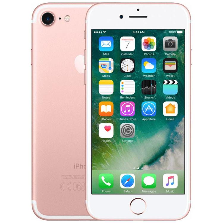 iPhone 7 32GB Rosa Guld - BEG - GOTT SKICK - OLÅST