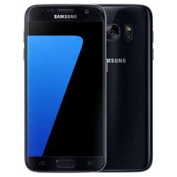 Samsung Galaxy S7 32GB Svart - BEG - ANVÄNT SKICK - OLÅST