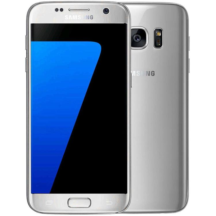 Samsung Galaxy S7 32GB Silver/Guld - BEG - GOTT SKICK - OLÅST