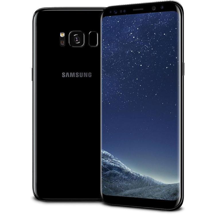 Samsung Galaxy S8 64GB Svart - BEG - GOTT SKICK - OLÅST