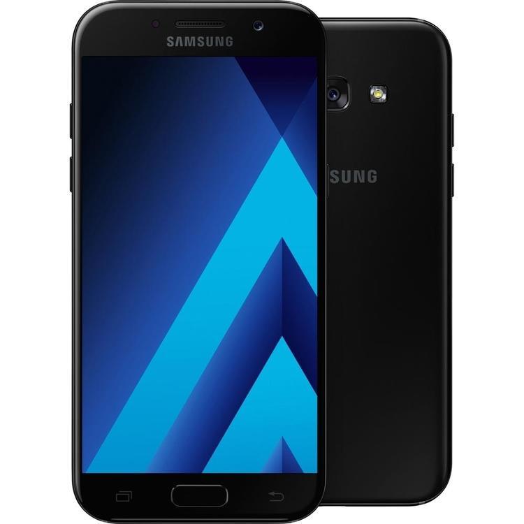 Samsung Galaxy A5 (2017) 32GB Svart/Guld - BEG - ANVÄNT SKICK - OLÅST