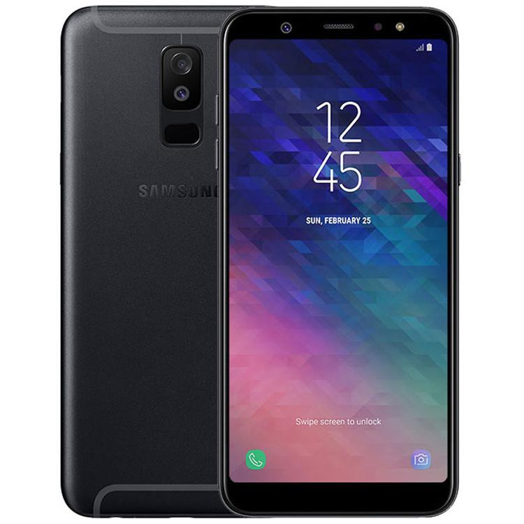 Samsung Galaxy A6 32GB Dual SIM Svart - BEG - GOTT SKICK - OLÅST
