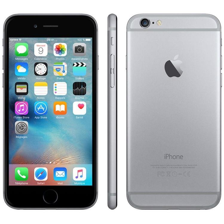 iPhone 6 16GB Space Gray - BEG - ANVÄNT SKICK - OLÅST