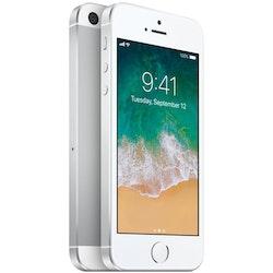 iPhone SE 16GB  Silver - BEG - ANVÄNT SKICK - OLÅST
