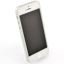 iPhone 5 16GB Silver - BEG - ANVÄNT SKICK - OPERATÖRSLÅST TELIA
