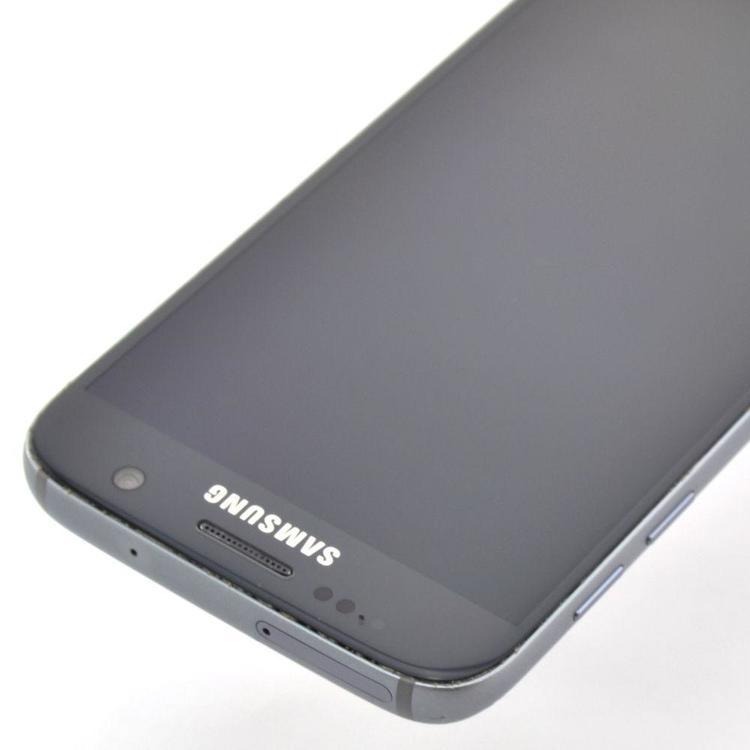 Samsung Galaxy S7 32GB Svart - BEG - GOTT SKICK - OLÅST