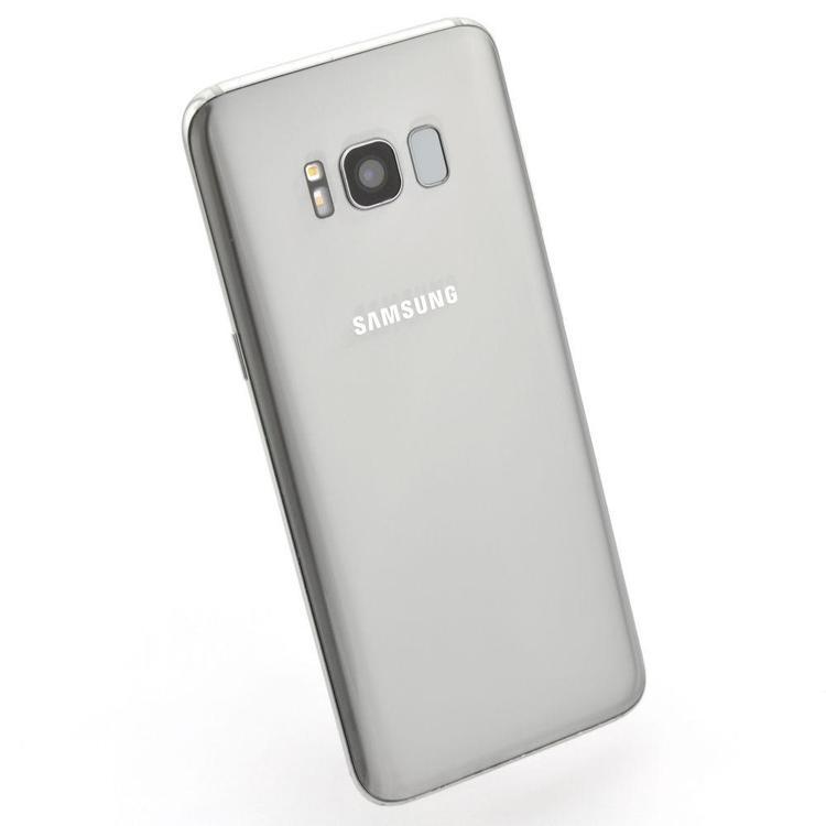 Samsung Galaxy S8 64GB Silver - BEG - ANVÄNT SKICK - OLÅST