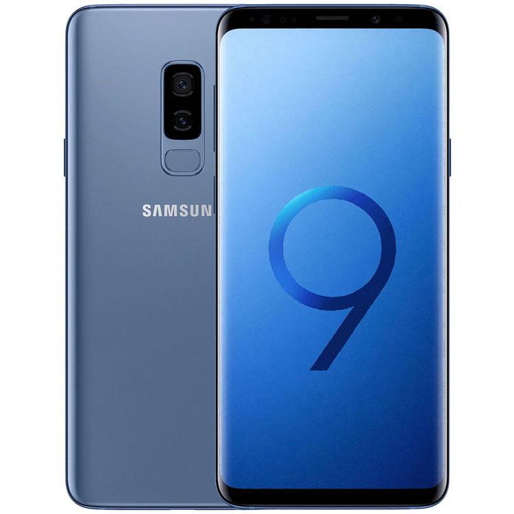 Samsung Galaxy S9 Plus 64GB Dual SIM Blå - BEG - FINT SKICK - OLÅST