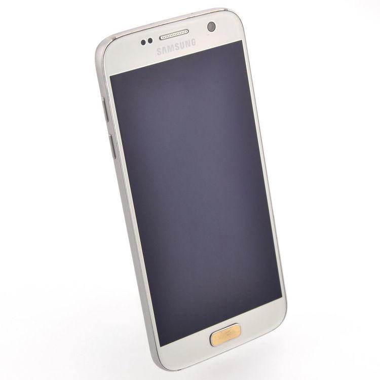 Samsung Galaxy S7 32GB Silver - BEG - GOTT SKICK - OLÅST
