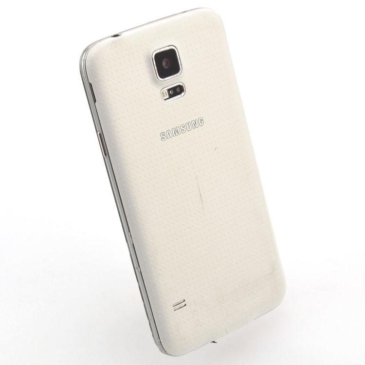 Samsung Galaxy S5 16GB Vit - BEG - ANVÄNT SKICK - OLÅST