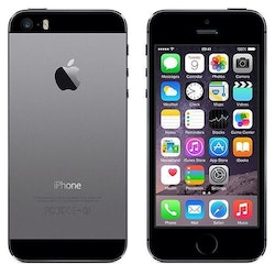 iPhone 5S 16GB Space Gray - BEG - ANVÄNT SKICK - OLÅST