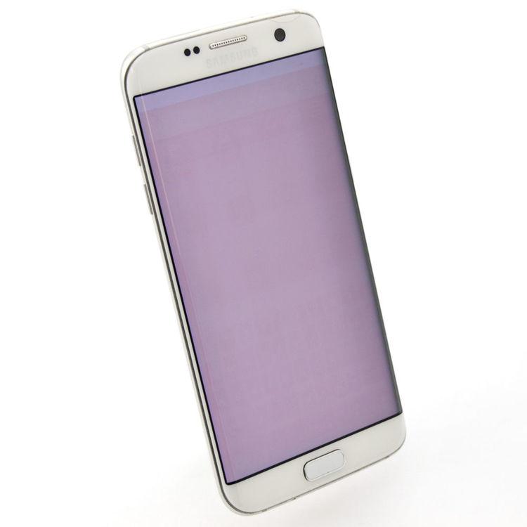 Samsung Galaxy S7 Edge 32GB Vit - BEG - ANVÄNT SKICK - OLÅST