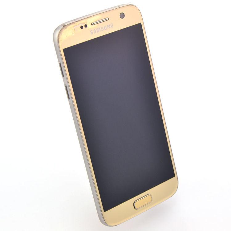 Samsung Galaxy S7 32GB Guld - BEG - ANVÄNT SKICK - OLÅST
