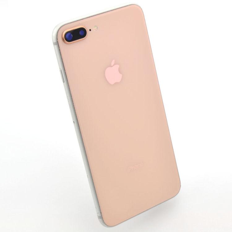 iPhone 8 Plus 64GB Silver/Guld - BEG - GOTT SKICK - OLÅST