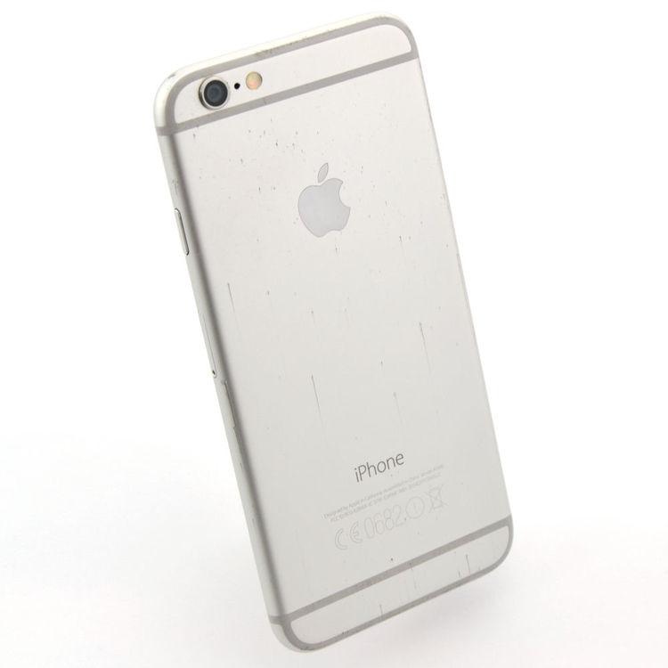 iPhone 6 128GB Silver - BEG - GOTT SKICK - OLÅST