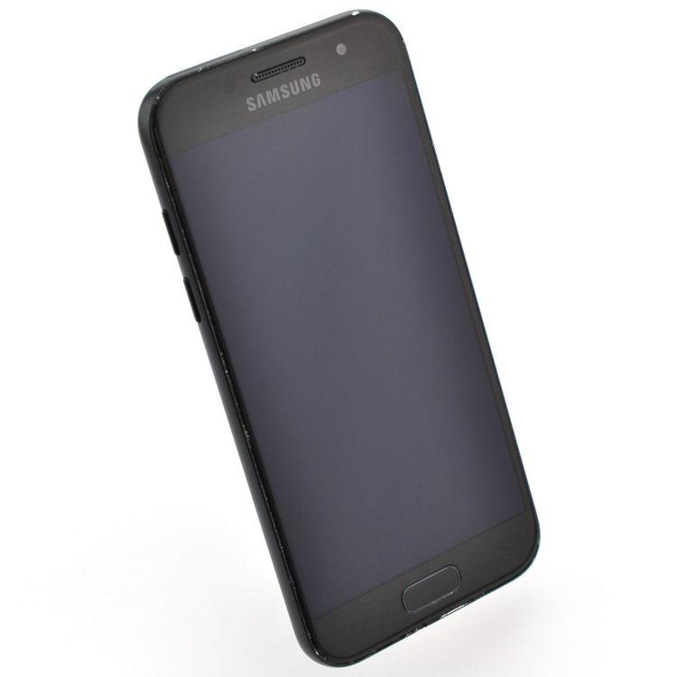 Samsung Galaxy A3 (2017) 16GB Svart - BEG - GOTT SKICK - OLÅST