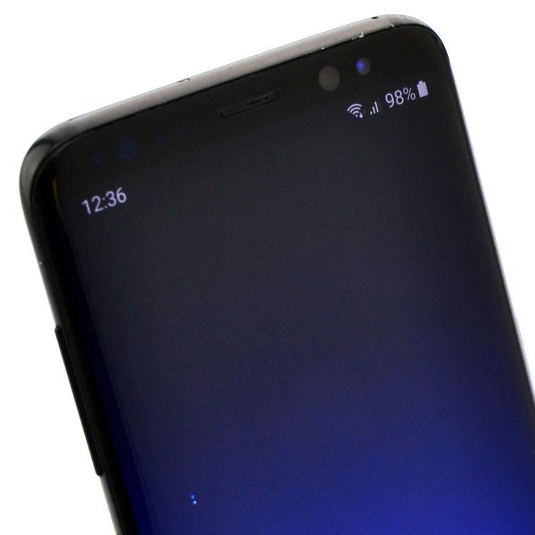 Samsung Galaxy S8 64GB Svart - BEG - ANVÄNT SKICK - OLÅST