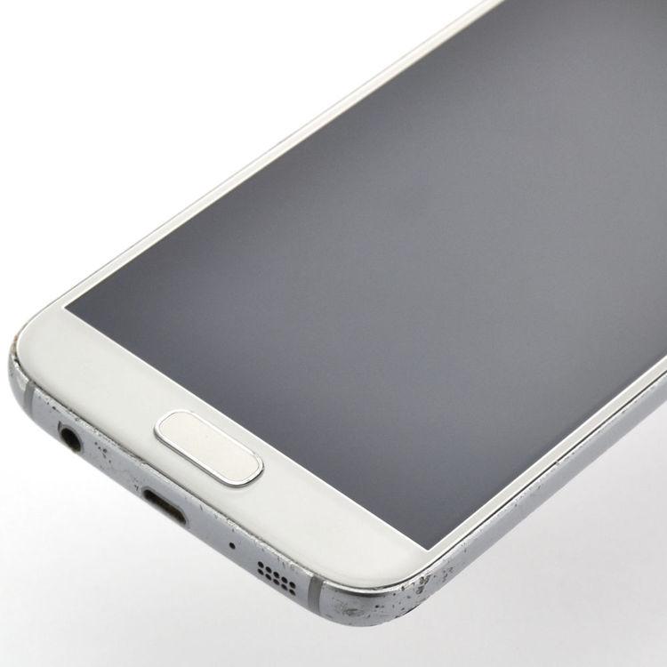 Samsung Galaxy S7 32GB Silver/Svart - BEG - GOTT SKICK - OLÅST