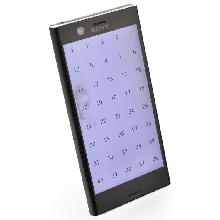 Sony Xperia XZ1 Compact 32GB Svart - BEG - ANVÄNT SKICK - OLÅST