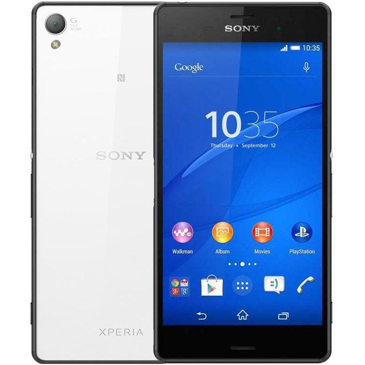 Sony Xperia Z3 16GB Svart/Vit - BEG - GOTT SKICK - OLÅST